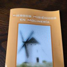 Libros: RIESGOS HIGIÉNICOS EN MOLINERA. JUNTA DE CASTILLA Y LEÒN. Lote 222012393