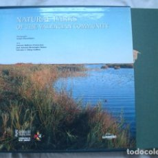 Libros: NATURAL PARKS OF THE VALENCIAN COMMUNITY.. Lote 222168740