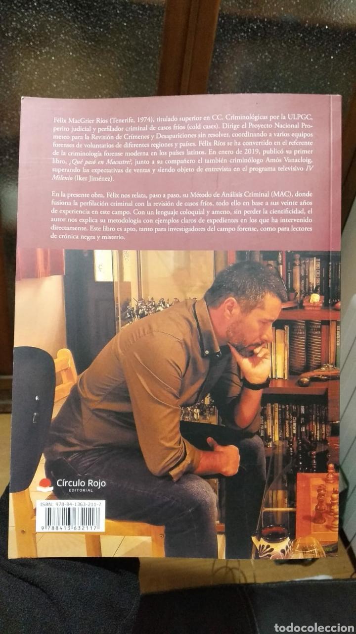 Libros: Postmortem perfilacion criminal en casos fríos. dedicado por Félix MacGrier Rios. nuevo criminología - Foto 2 - 222474005