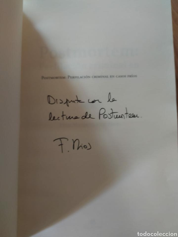 Libros: Postmortem perfilacion criminal en casos fríos. dedicado por Félix MacGrier Rios. nuevo criminología - Foto 3 - 222474005