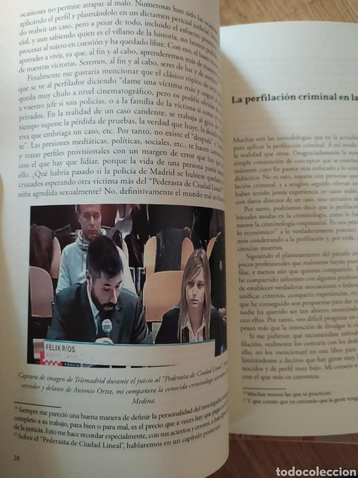 Libros: Postmortem perfilacion criminal en casos fríos. dedicado por Félix MacGrier Rios. nuevo criminología - Foto 6 - 222474005