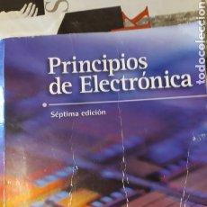 Libros: PRINCIPIOS DE ELECTRONICA. MALVINO. Lote 223759141