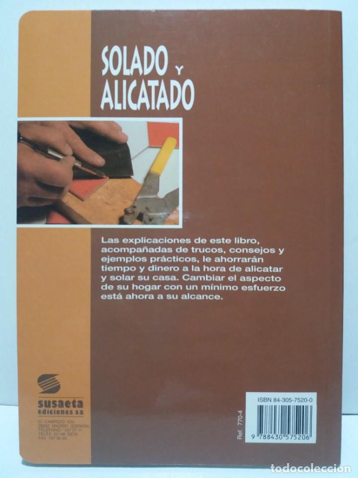 Libros: MAGNIFICO LIBRO SOBRE INSTALACION DE SUELOS Y ZOCALOS CON BALDOSAS Y AZULEJOS - Foto 2 - 223872295