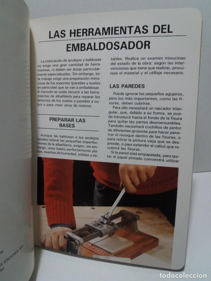 Libros: MAGNIFICO LIBRO SOBRE INSTALACION DE SUELOS Y ZOCALOS CON BALDOSAS Y AZULEJOS - Foto 3 - 223872295