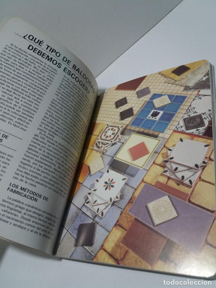 Libros: MAGNIFICO LIBRO SOBRE INSTALACION DE SUELOS Y ZOCALOS CON BALDOSAS Y AZULEJOS - Foto 5 - 223872295