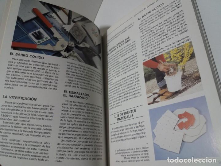 Libros: MAGNIFICO LIBRO SOBRE INSTALACION DE SUELOS Y ZOCALOS CON BALDOSAS Y AZULEJOS - Foto 6 - 223872295