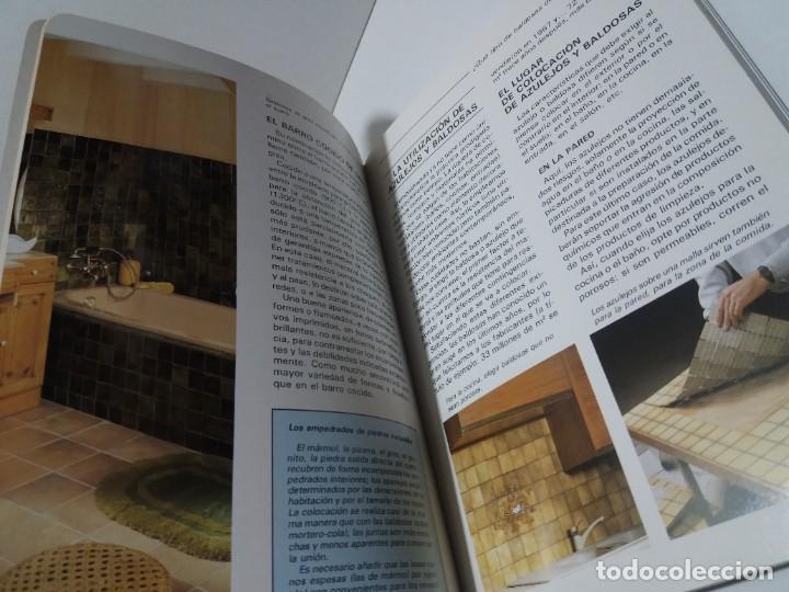 Libros: MAGNIFICO LIBRO SOBRE INSTALACION DE SUELOS Y ZOCALOS CON BALDOSAS Y AZULEJOS - Foto 7 - 223872295
