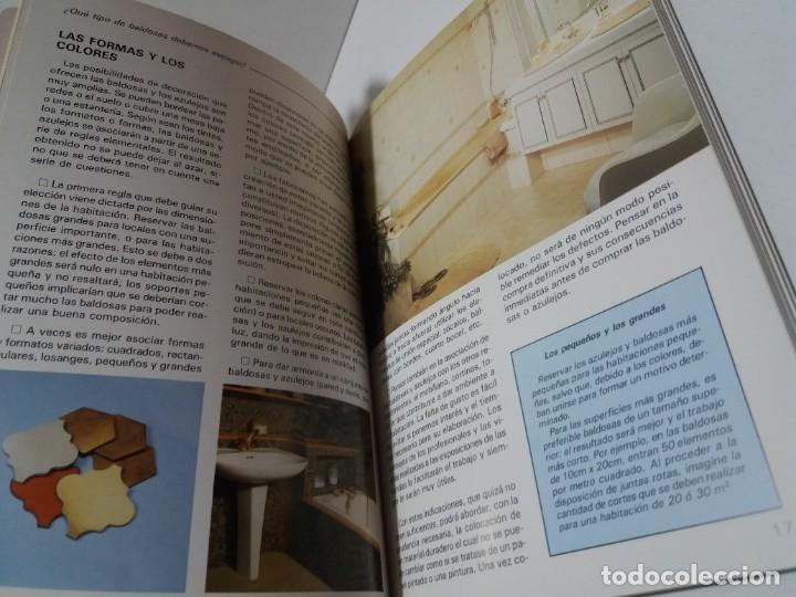 Libros: MAGNIFICO LIBRO SOBRE INSTALACION DE SUELOS Y ZOCALOS CON BALDOSAS Y AZULEJOS - Foto 8 - 223872295