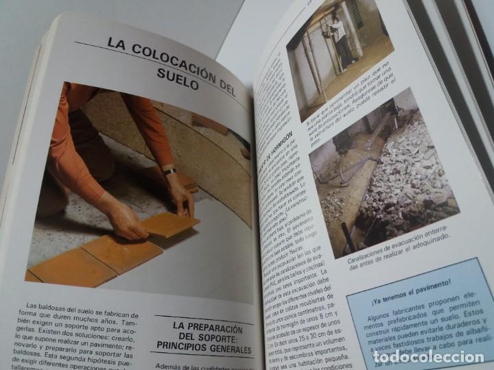 Libros: MAGNIFICO LIBRO SOBRE INSTALACION DE SUELOS Y ZOCALOS CON BALDOSAS Y AZULEJOS - Foto 19 - 223872295