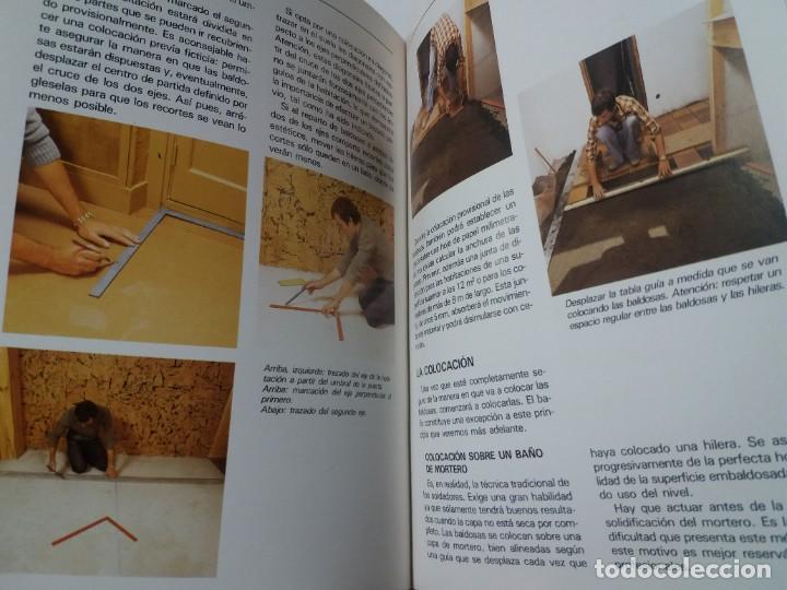 Libros: MAGNIFICO LIBRO SOBRE INSTALACION DE SUELOS Y ZOCALOS CON BALDOSAS Y AZULEJOS - Foto 25 - 223872295