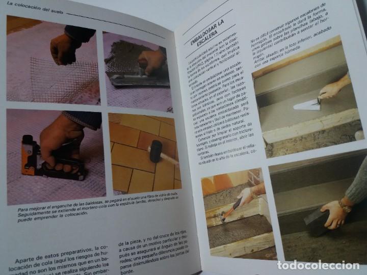 Libros: MAGNIFICO LIBRO SOBRE INSTALACION DE SUELOS Y ZOCALOS CON BALDOSAS Y AZULEJOS - Foto 30 - 223872295