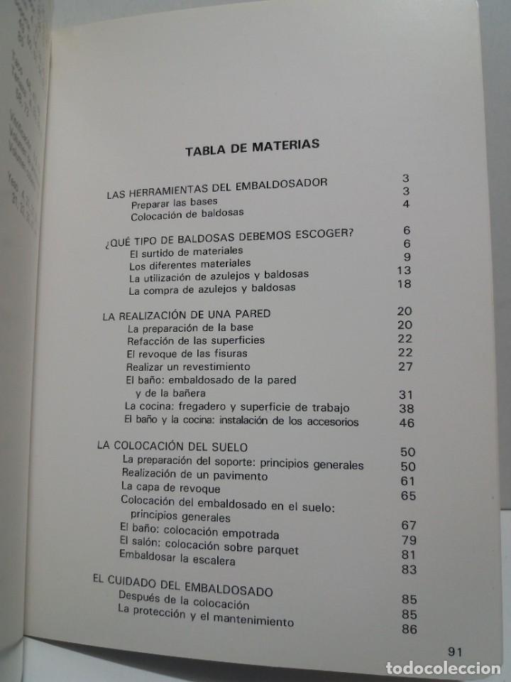 Libros: MAGNIFICO LIBRO SOBRE INSTALACION DE SUELOS Y ZOCALOS CON BALDOSAS Y AZULEJOS - Foto 32 - 223872295