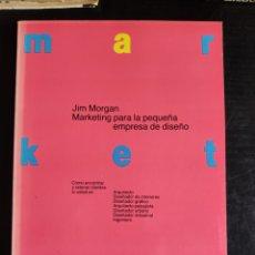 Livros: MARKETING PARA LA PEQUEÑA EMPRESA DE DISEÑO. Lote 225116485