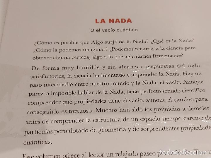 Libros: DESCUBRIR LA CIENCIA Nº 23 / LA NADA - O EL VACÍO CUÁNTICO / JOSÉ IGNACIO LATORRE / PRECINTADO - Foto 2 - 263116955