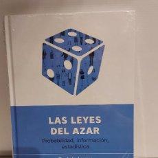 Libros: DESCUBRIR LA CIENCIA Nº 29 / LAS LEYES DEL AZAR / BARTOLO LUQUE-JUAN PARRONDO / PRECINTADO. Lote 227613505