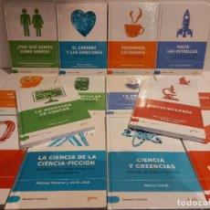 Libros: DESCUBRIR LA CIENCIA / CONJUNTO DE 14 LIBROS DE LA COLECCIÓN / TODOS PRECINTADOS / OPORTUNIDAD.. Lote 227617890