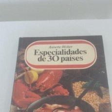 Libros: COCINA. ESPECIALIDAD EN 30 PAÍSES.. Lote 227694210