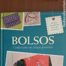 Livros: BOLSOS. INCLUYE PATRONES. Lote 227708855