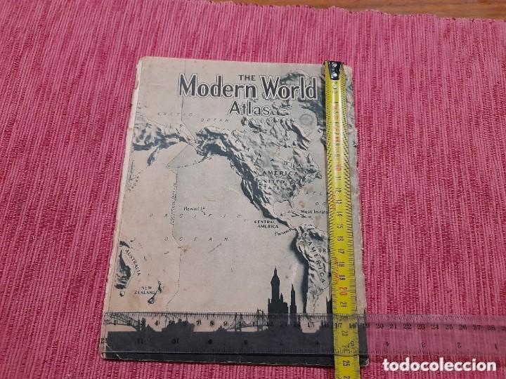 Libros: Atlas mundial del año 1943, editado en Londres. - Foto 6 - 236555100