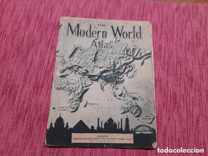 ATLAS MUNDIAL DEL AÑO 1943, EDITADO EN LONDRES. (Libros Nuevos - Ciencias, Manuales y Oficios - Otros)