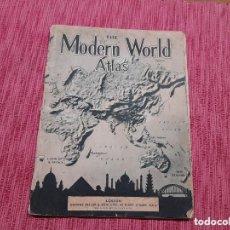 Libros: ATLAS MUNDIAL DEL AÑO 1943, EDITADO EN LONDRES.. Lote 236555100