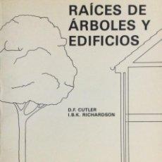 Libros: RAÍCES DE ÁRBOLES Y EDIFICIOS. RAÍCES. NUEVO. Lote 243889140