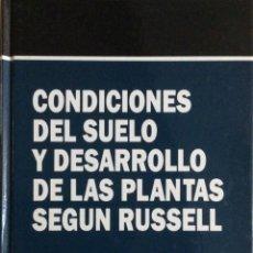 Libros: CONDICIONES DEL SUELO Y DESARROLLO DE LAS PLANTAS SEGÚN RUSSELL. MUNDI PRENSA. NUEVO. Lote 244295040