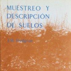 Libros: MUESTREO Y DESCRIPCIÓN DE SUELOS.REVERTE. NUEVO.. Lote 244405280