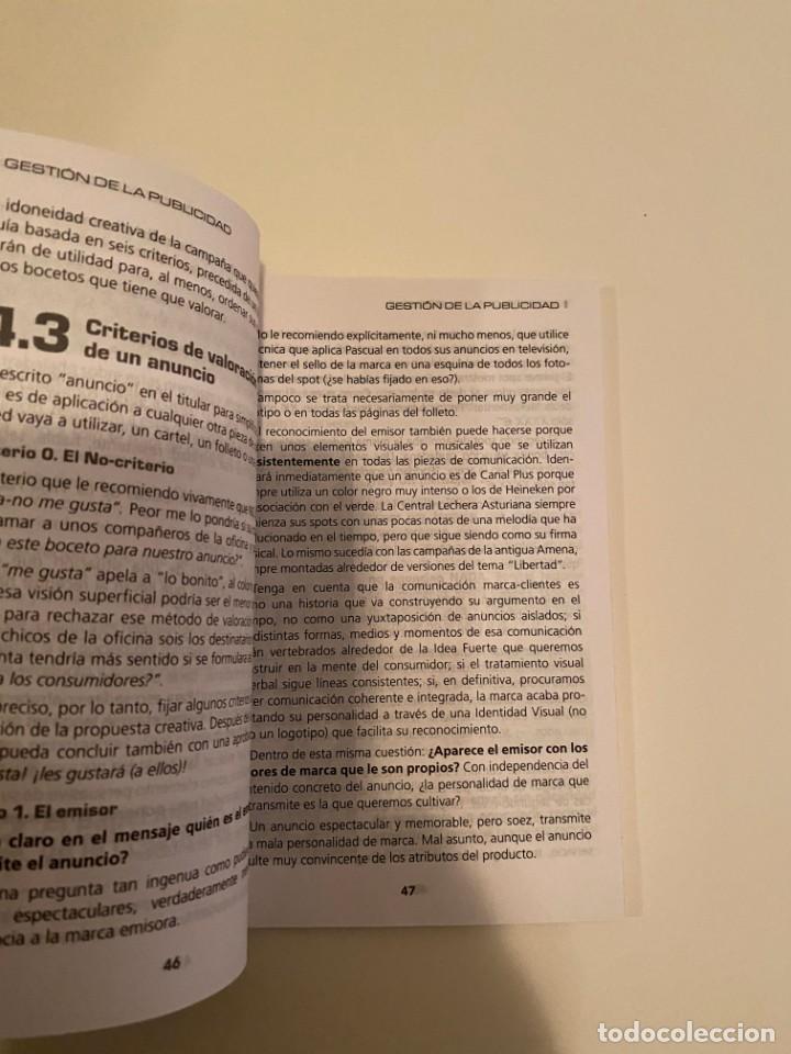 """Libros: """"GESTIÓN DE LA PUBLICIDAD"""" - RICARDO H. ONTALBA - Foto 3 - 244969040"""