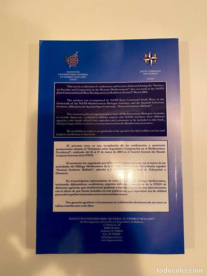 """Libros: """"Seminario sobre seguridad y cooperación en el oeste mediterráneo"""" - uned - Foto 2 - 244969470"""