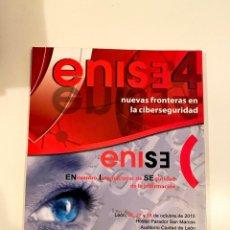"""Libros: """"NUEVAS FRONTERAS EN LA CIBERSEGURIDAD"""" - ENISE. Lote 245379185"""
