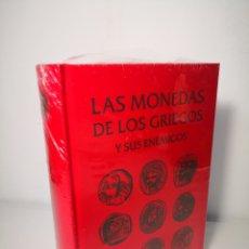 Livros: LAS MONEDAS GRIEGAS Y SUS ENEMIGOS. CATÁLOGO, JUAN R. CAYÓN, 2003. Lote 248160370