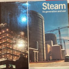 Libros: STEAM. ITS GENERATION AND USE. BABCOCK WILCOX. 31 EDITION. PRINTED IN USA. 1978. NUEVO. Lote 248305240