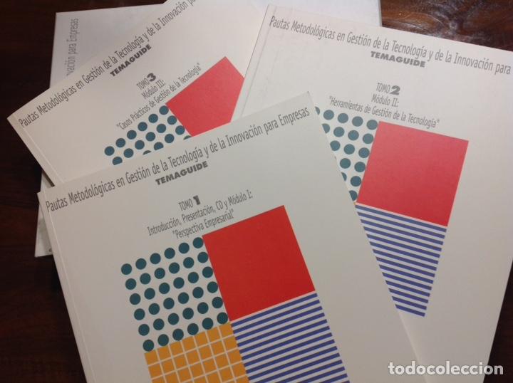 Libros: Pautas metodologicas en gestion de la tecnologia y de la innovacion para las empresas. Temaguide. - Foto 2 - 248359250