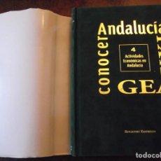 Libros: GRAN TOMO CONOCER ANDALUCIA SIGLO XXI . 430 PAG DE 32 X 26 Y 4 CM DE GORDO. Lote 253549515