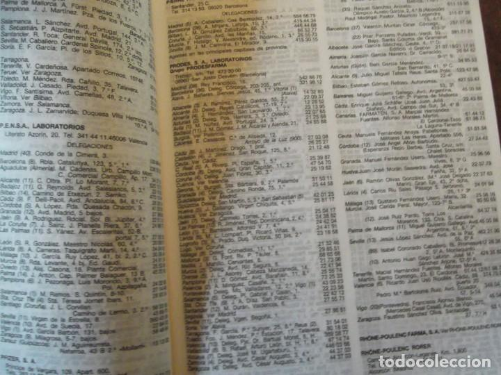 Libros: Valdemecum INTERNACIONAL MEDICOM año 1991 1900 pag / de 22 x 17 y 8 cm de grueso - Foto 2 - 253550140