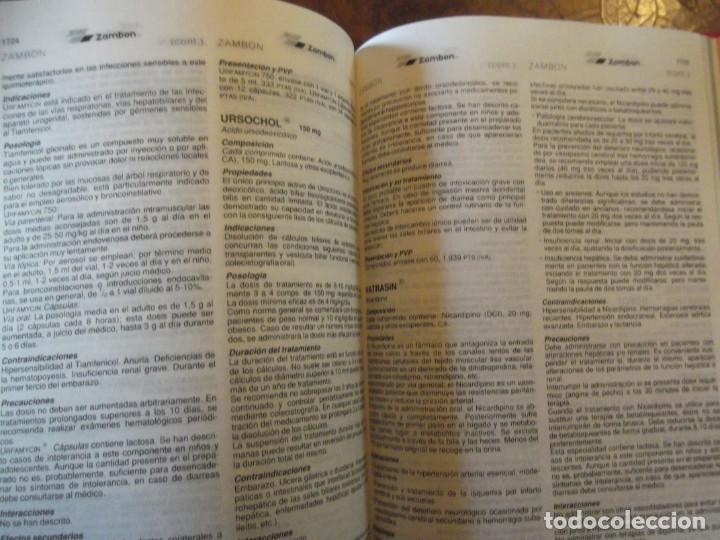 Libros: Valdemecum INTERNACIONAL MEDICOM año 1991 1900 pag / de 22 x 17 y 8 cm de grueso - Foto 6 - 253550140