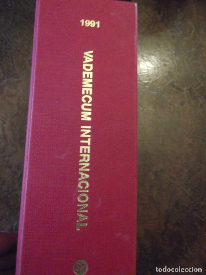 Libros: Valdemecum INTERNACIONAL MEDICOM año 1991 1900 pag / de 22 x 17 y 8 cm de grueso - Foto 8 - 253550140