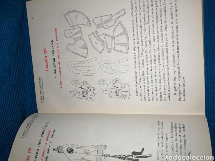 Libros: LIBRO DE CORTE SISTEMA MARTÍ, MODISTERIA, BARCELONA 1962. MÁS REGALO - Foto 5 - 253569130