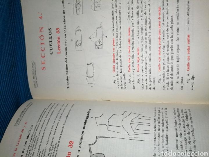 Libros: LIBRO DE CORTE SISTEMA MARTÍ, MODISTERIA, BARCELONA 1962. MÁS REGALO - Foto 6 - 253569130