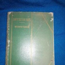 Libros: LIBRO DE CORTE SISTEMA MARTÍ, MODISTERIA, BARCELONA 1962. MÁS REGALO. Lote 253569130