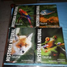 Libros: HISTORIA NATURAL 4 TOMOS CLUB INTERNACIONAL DEL LIBRO. Lote 253666690