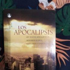 Libros: LOS APOCALIPSIS. Lote 254265990