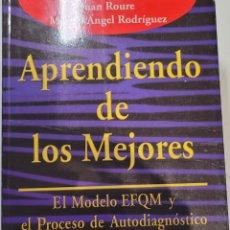 Libros: APRENDIENDO DE LOS MEJORES. JOAN ROURE.. Lote 255555815