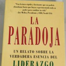 Libros: LA PARADOJA JAMES C. HUNTER. Lote 256104390