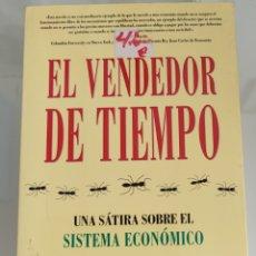 Libros: EL VENDEDOR DE TIEMPO. FERNANDO TRÍAS DE BES. Lote 256120400