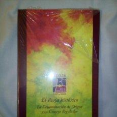 Libros: RIOJA 75 AÑOS DE DENOMINACION (1925-2000) SIN DESORECINTAR. Lote 258939370