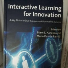 Libros: INTERACTIVE LEARNING FOR INNOVATION. Lote 261607120