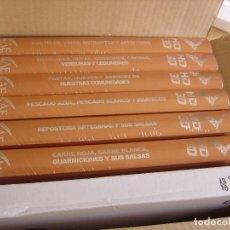 Libros: LA DIVINA COCINA - JUAN MARI ARZAK - LA GRAN OBRA MAESTRA DE LA GASTRONOMIA - COMPLETA 6 TOMOS+4 DVD. Lote 263296520