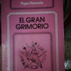 Livros: HECHIZOS, EL GRAN GRIMORIO. Lote 264992584
